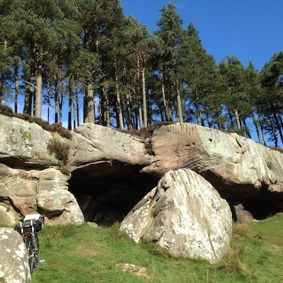 Cuthbert's Cave on Staff and Scrip, Dr John Dunn