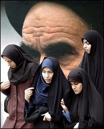 Khomeini women on Staff and Scrip, Dr John Dunn