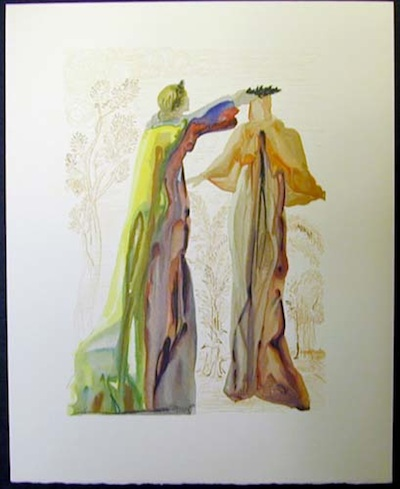 From Salvador Dali's Divine Comedy watercolour series on Dr John Dunn.