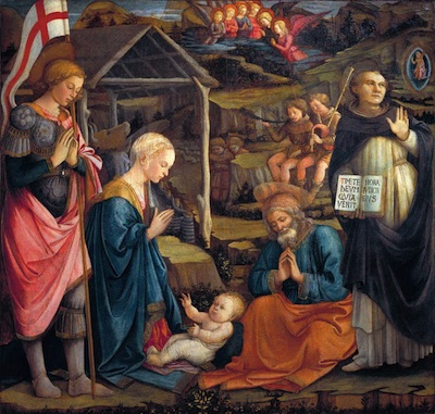 Nativity on Staff and Scrip, Dr John Dunn