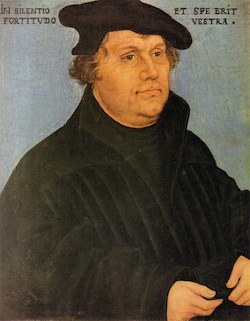 Martin Luther on Staff and Scrip, Dr John Dunn.
