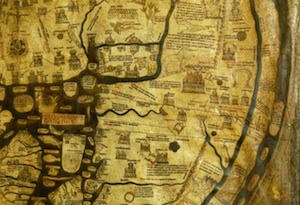 Mappa Mundi on Staff and Scrip, Dr John Dunn.