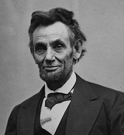 Abraham Lincoln on Staff and Scrip, Dr John Dunn